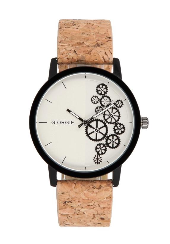 Korkové náramkové dámske hodinky Giorgie TC19033
