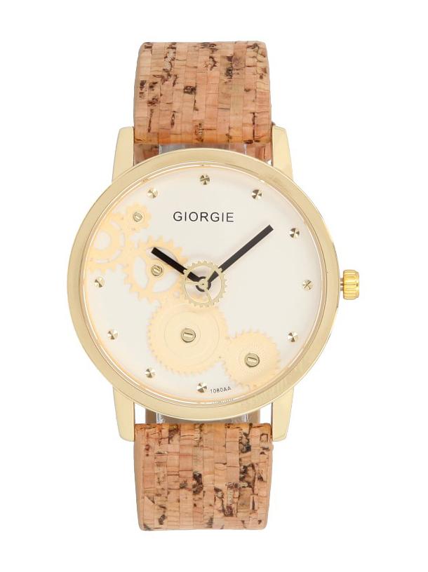 Korkové náramkové dámske hodinky Giorgie TC19034