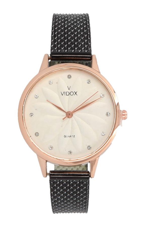 Náramkové dámske hodinky s kamienkami Vidox Quartz CC15065