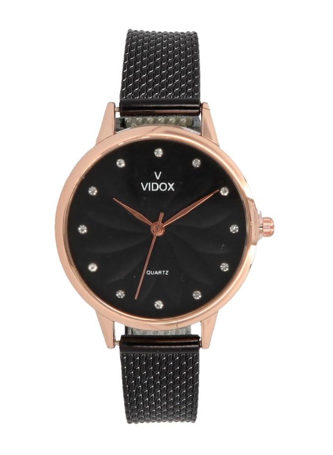 Náramkové dámske hodinky s kamienkami Vidox Quartz CC15066