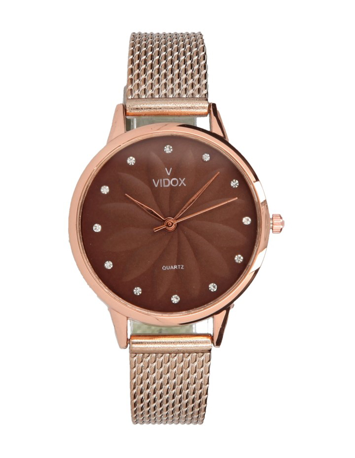 Náramkové dámske hodinky s kamienkami Vidox Quartz CC15118