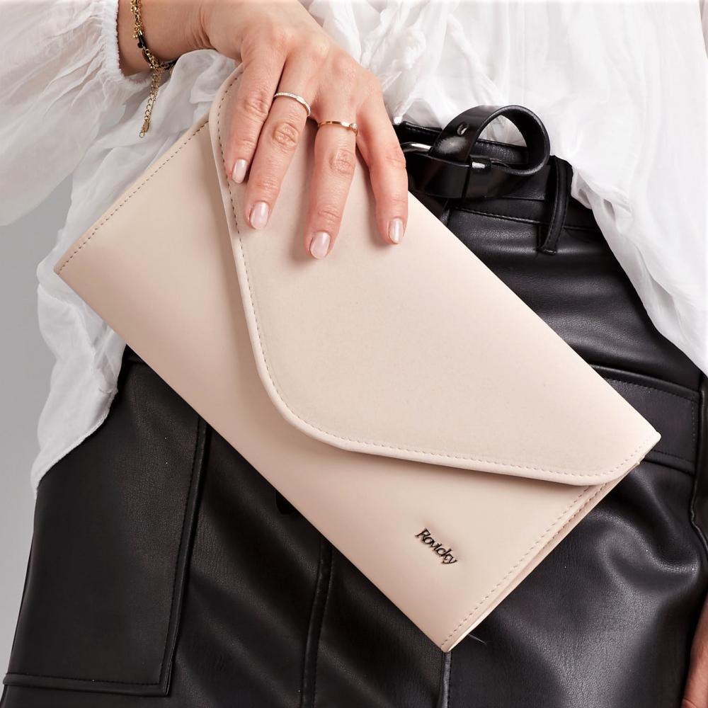 Púdrová dámska listová kabelka W25 ROVICKY
