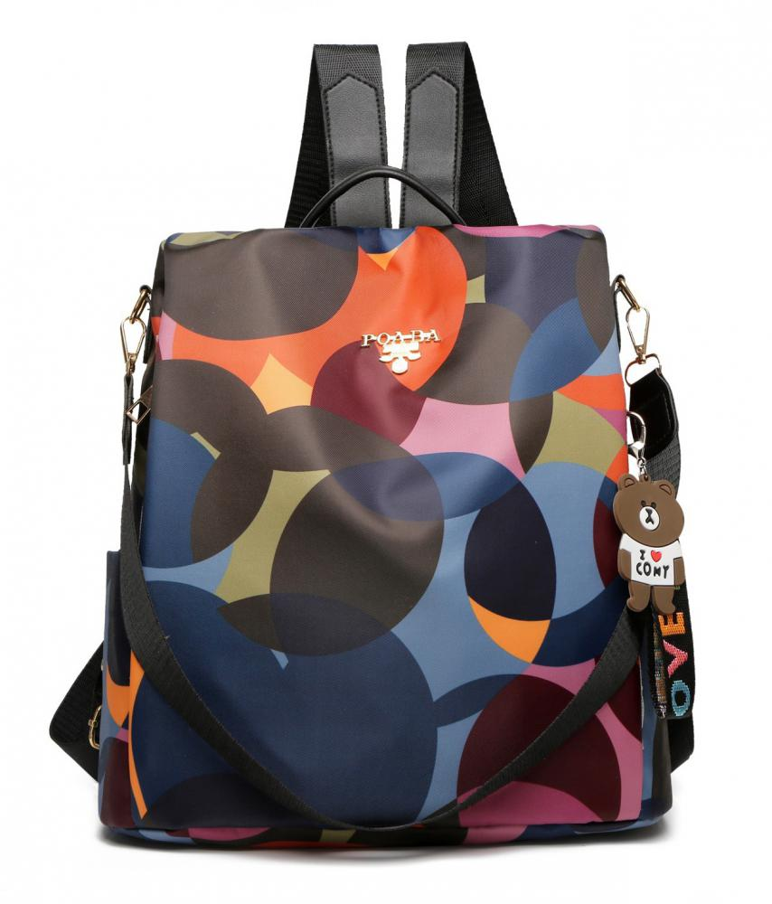 LULU Barevný batůžek / kabelka přes rameno