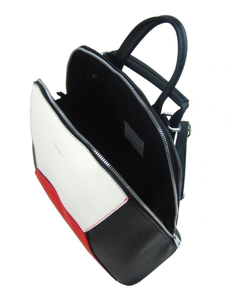 Marhuľovo hnedý dámsky elegantný batôžtek 4187-TS