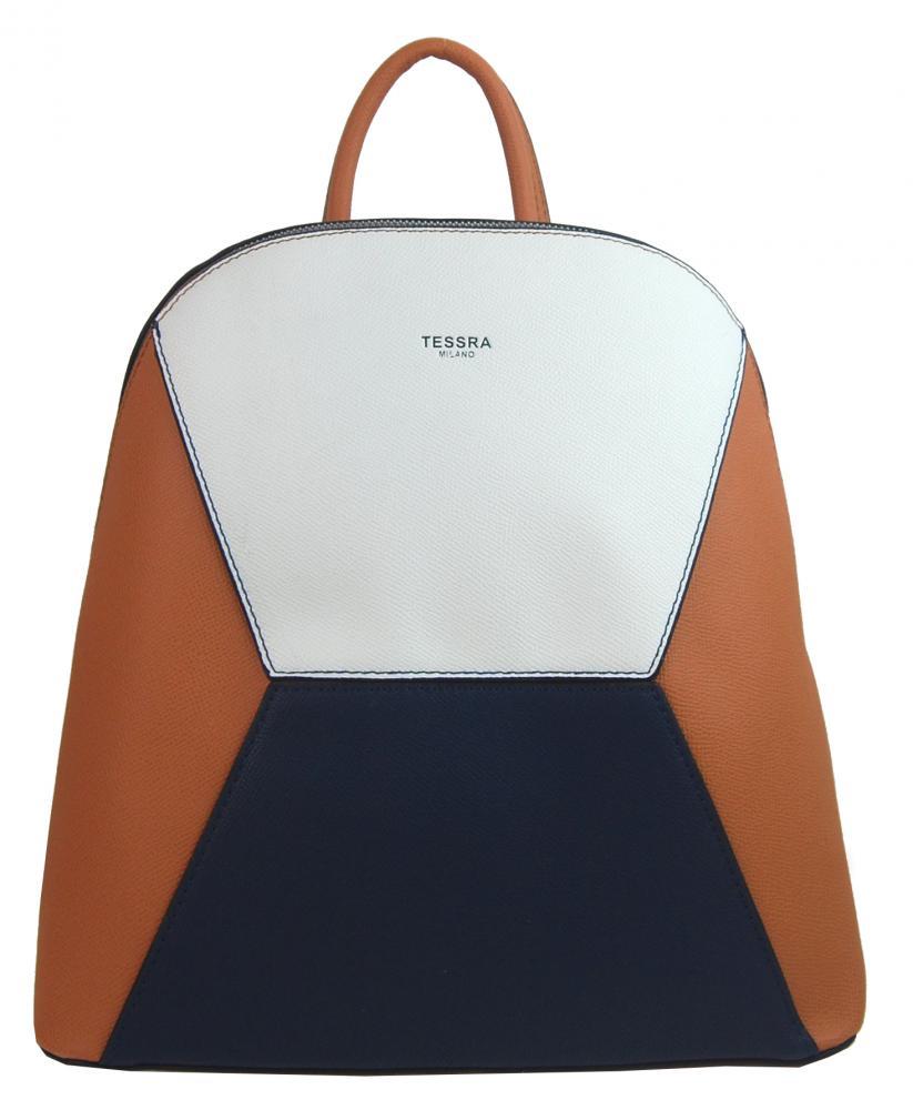 Hnedý dámsky elegantný batôžtek 4187-TS