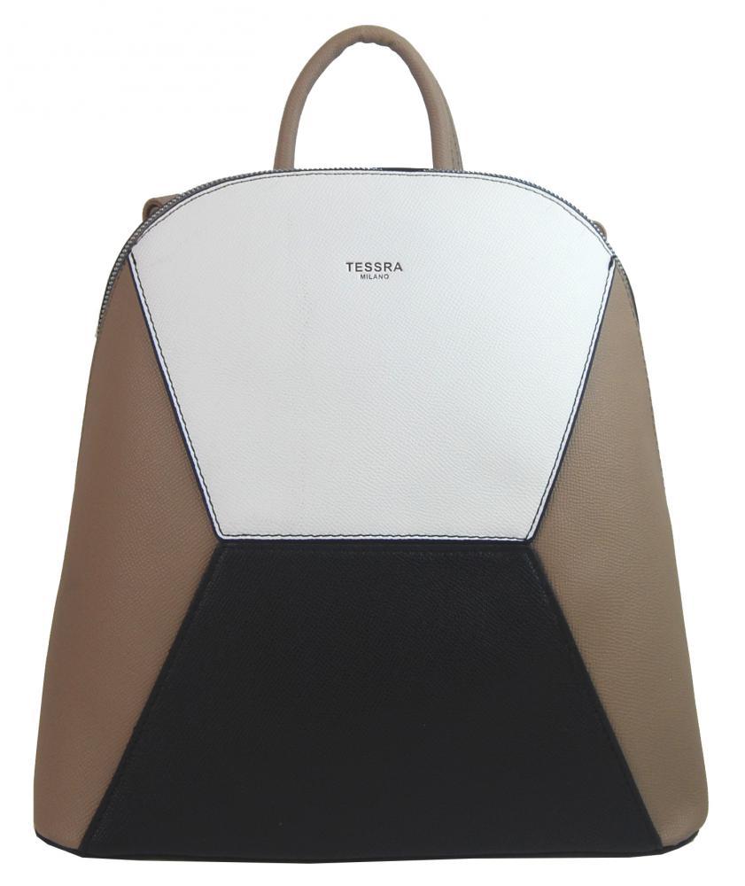 Prírodne hnedý dámsky elegantný batôžtek 4187-TS