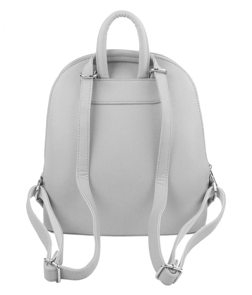Svetlo šedý elegantný dámsky batoh / kabelka 5234-TS