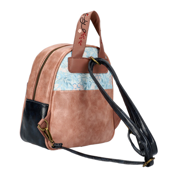 Sweet & Candy Dámsky farebný batôžtek s potlačou C