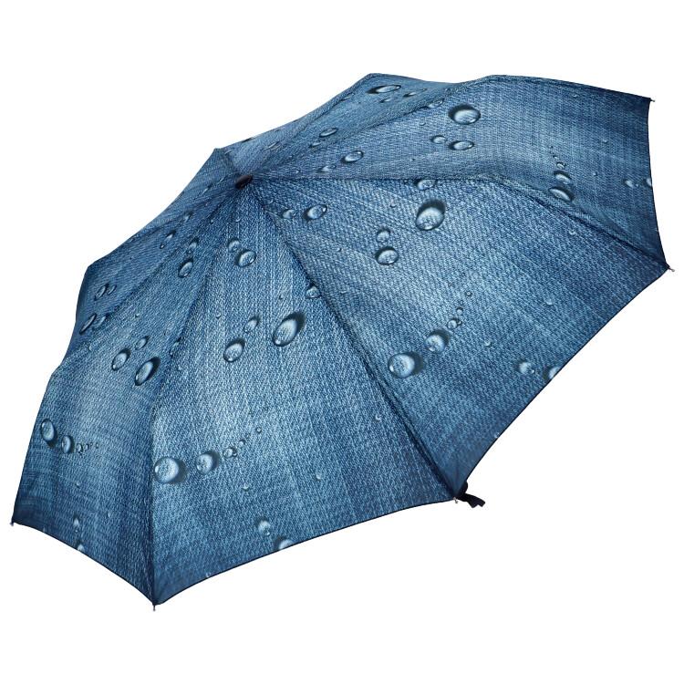 J.S ONDO Automatický deštník středně modrý