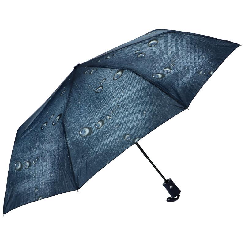 J.S ONDO Automatický deštník tmavě modrý