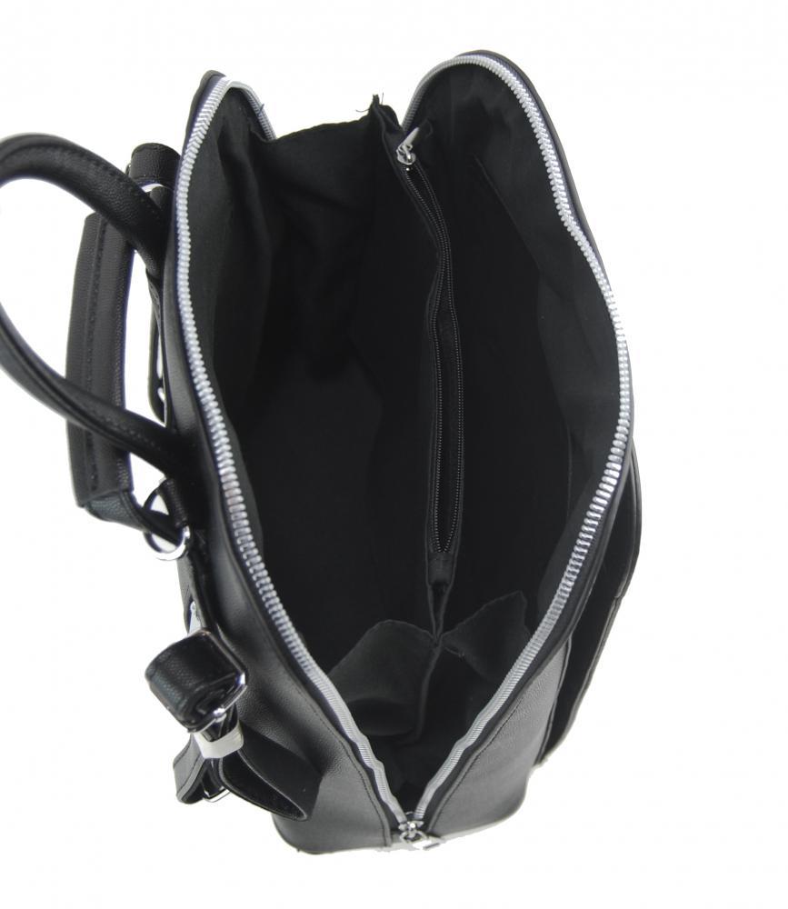 BELLA BELLY Elegantní černý dámský batoh 5301-BB