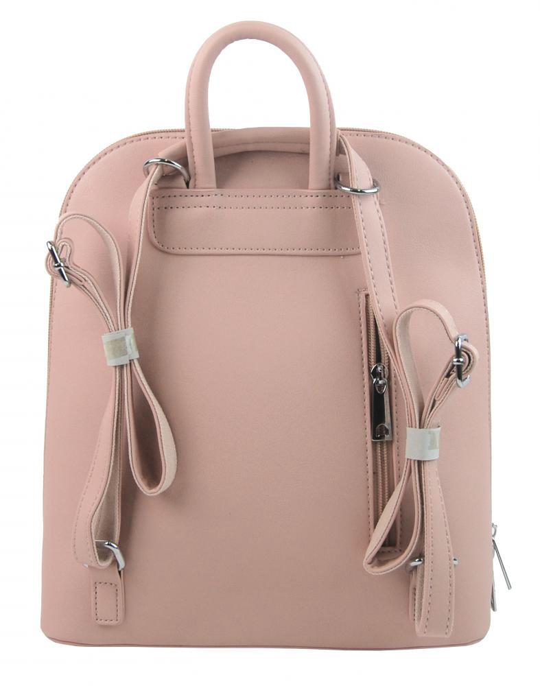 Elegantný ružový dámsky ruksak 5301-BB