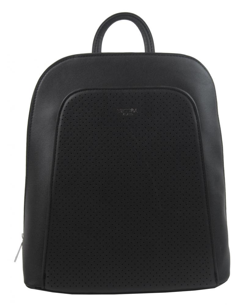 Elegantný čierny dámsky batoh 5306-TS