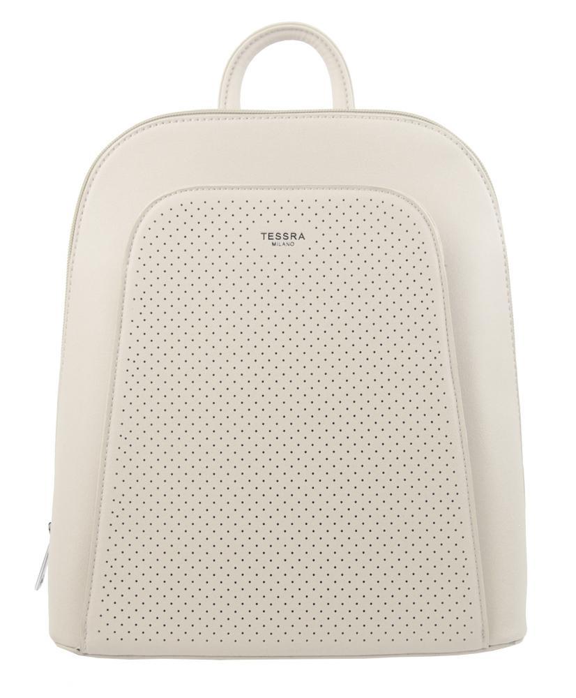 Elegantný krémový dámsky batoh 5306-TS