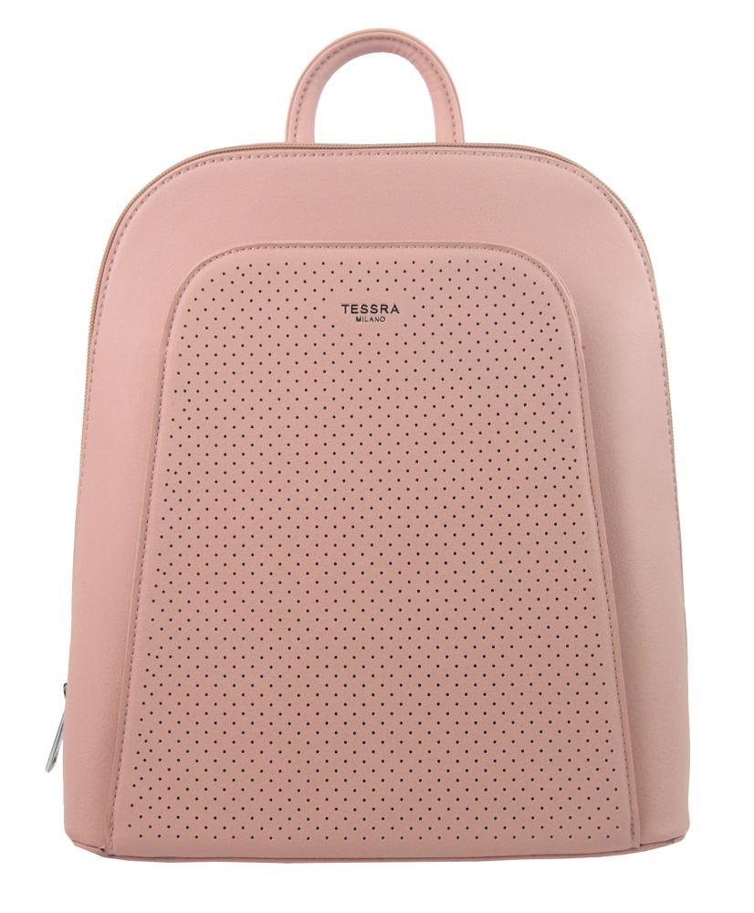 Elegantný ružový dámsky batoh 5306-TS
