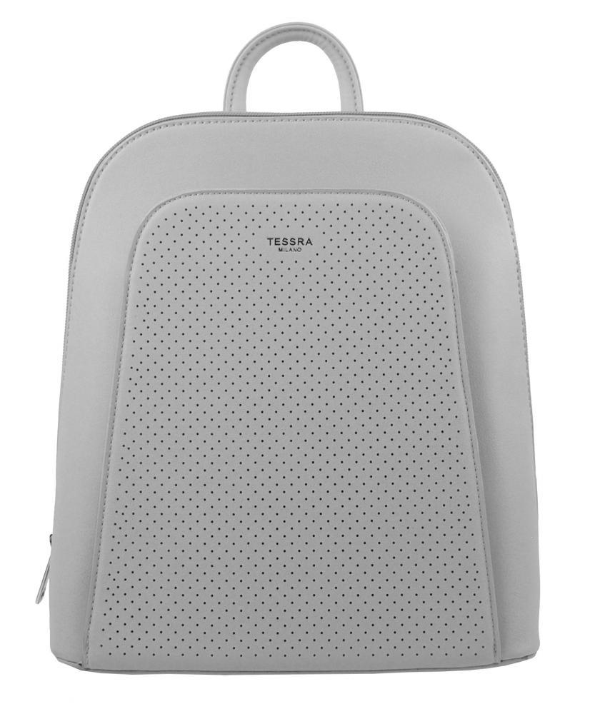 Elegantný šedý dámsky batoh 5306-TS