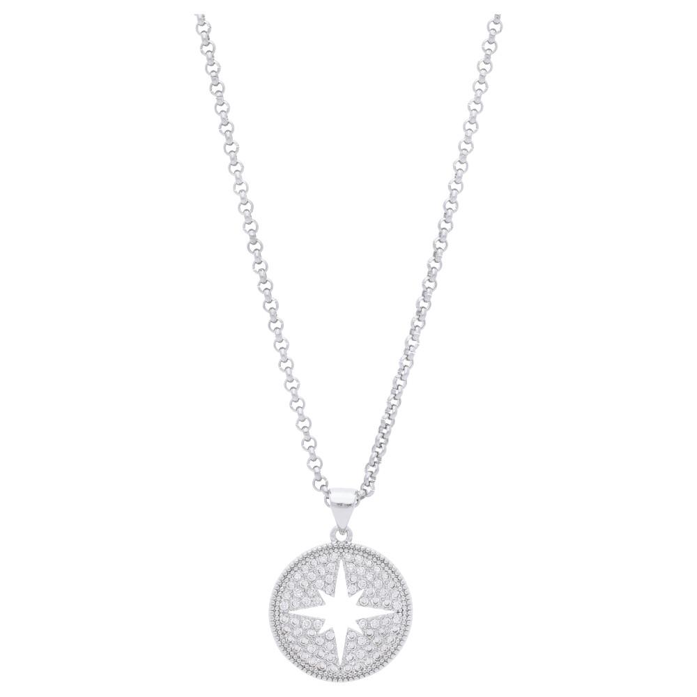 Stříbrný dámský náhrdelník s hvězdičkou MV170047