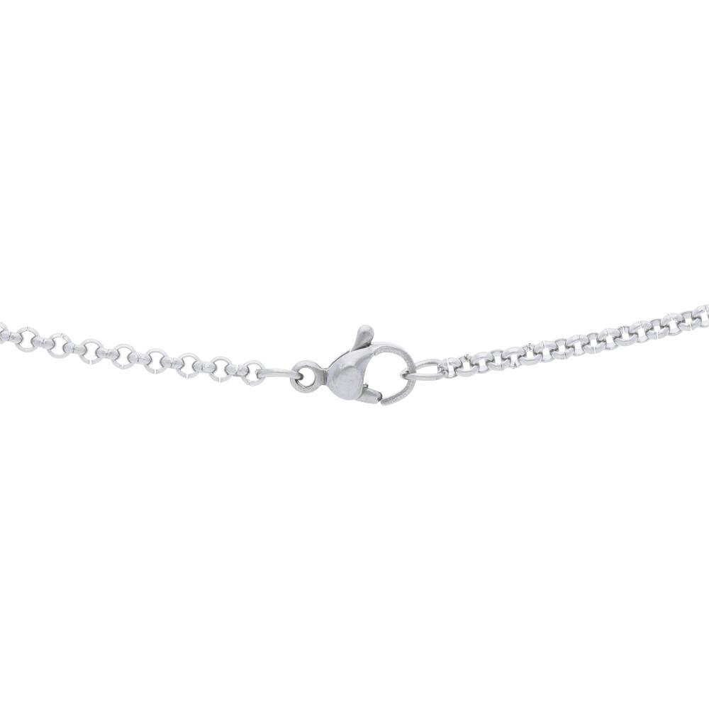 Strieborný dámsky náhrdelník s hviezdičkou MV170047