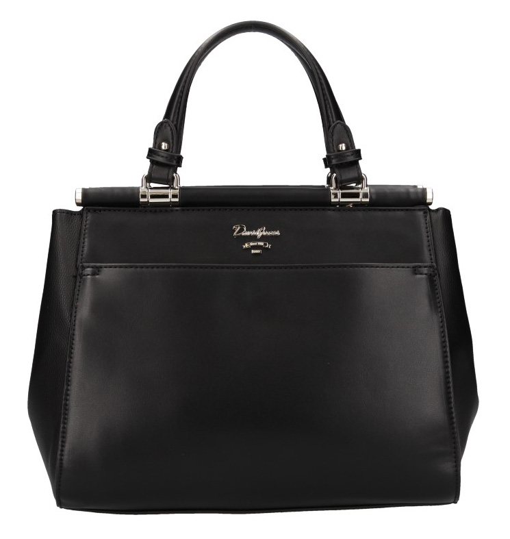 Černá moderní dámská kabelka David Jones 5954-3