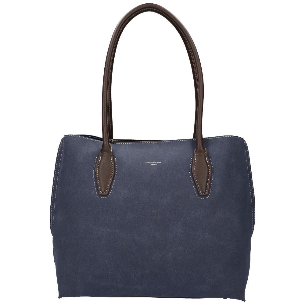 Modrá dámska kabelka cez rameno David Jones CM5327