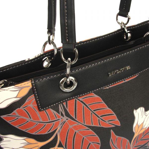 Černá dámská kabelka přes rameno David Jones CM5398