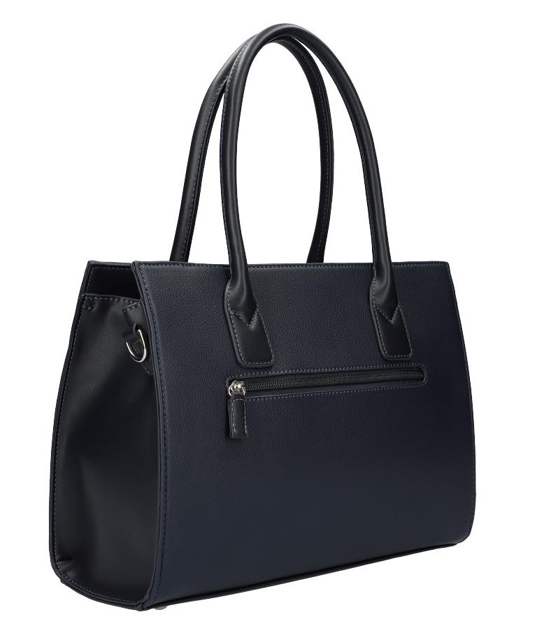 Modrá moderná dámska kabelka David Jones 6105-2