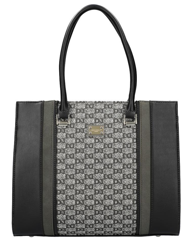 Černá originální dámská kabelka David Jones 6122-2
