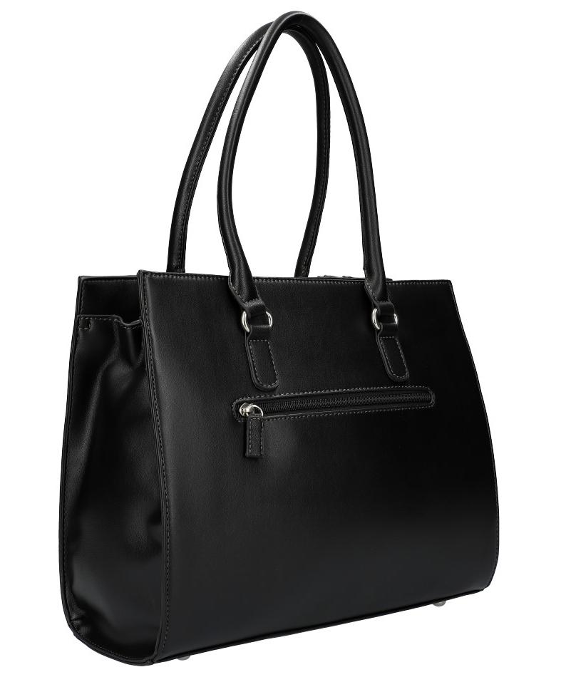 Čierna originálna dámska kabelka David Jones 6122-2