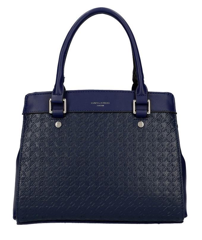 DAVID JONES tmavě modrá dámská kabelka do ruky 6301-2
