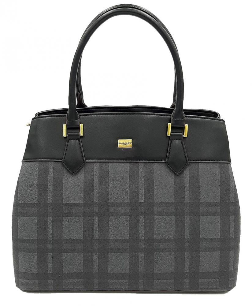 Čierna dámska kabelka do ruky David Jones CM5499