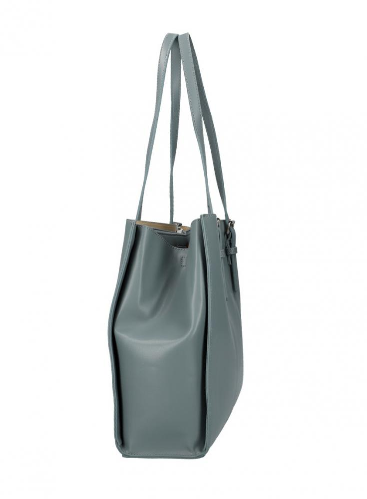 DAVID JONES Modrá velká dámská kabelka přes rameno