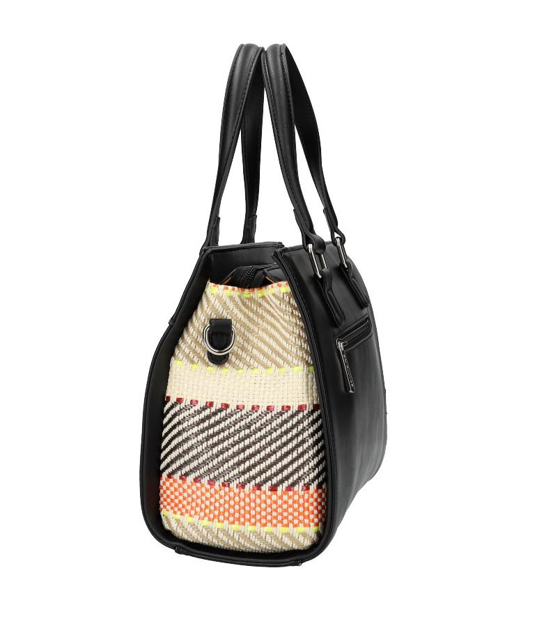 DAVID JONES Originální černá dámská kabelka do ruky CM5751