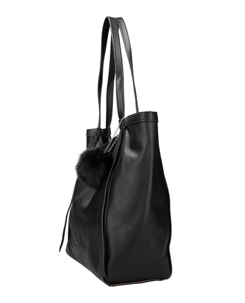 DAVID JONES Černá dámská kabelka přes rameno CM5856