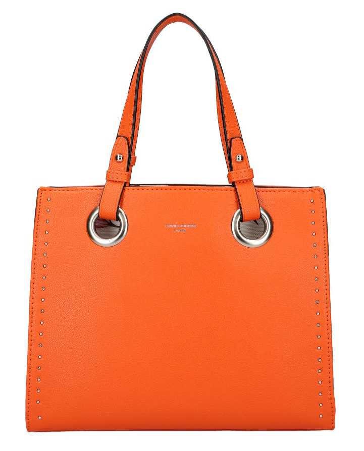 DAVID JONES Oranžová dámska kabelka do ruky CM5784