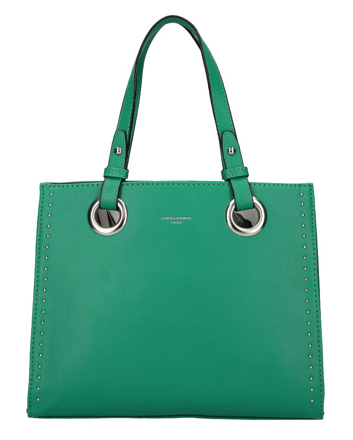 DAVID JONES Zelená dámska kabelka do ruky CM5784