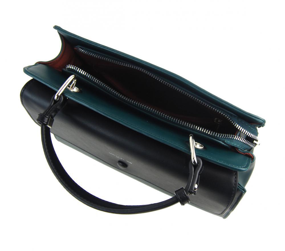 DAVID JONES Horská zelená dámska kabelka do ruky CM5945