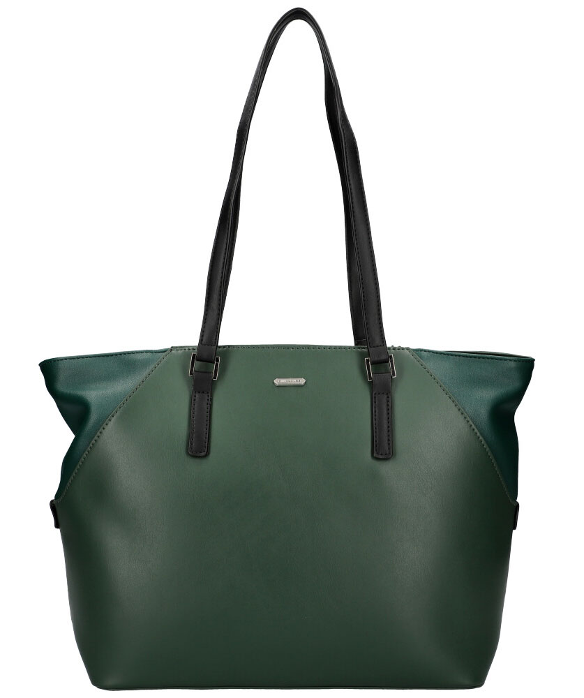 DAVID JONES Tmavo zelená dámska kabelka cez rameno CM5831