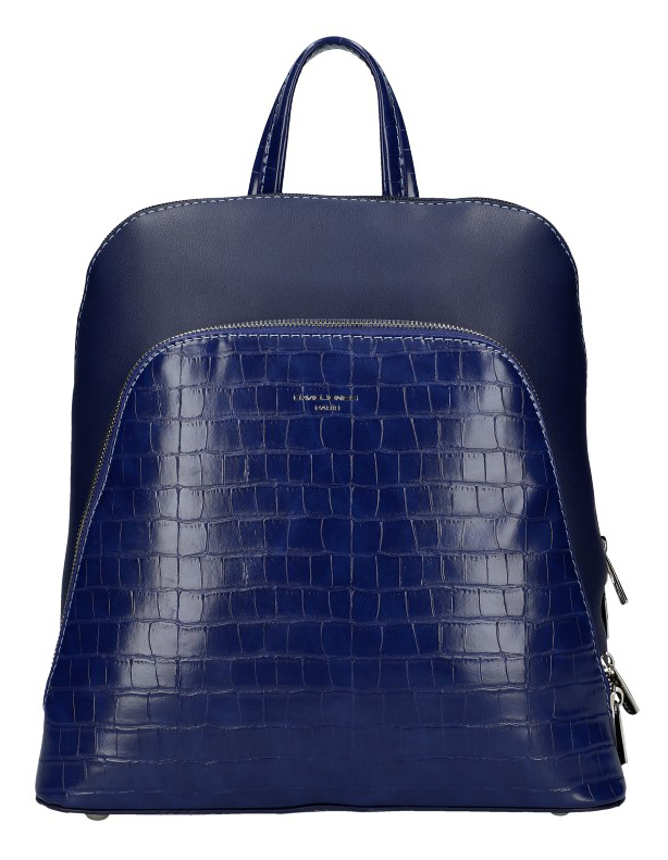 Modrý dámsky módny batôžtek David Jones CM5615