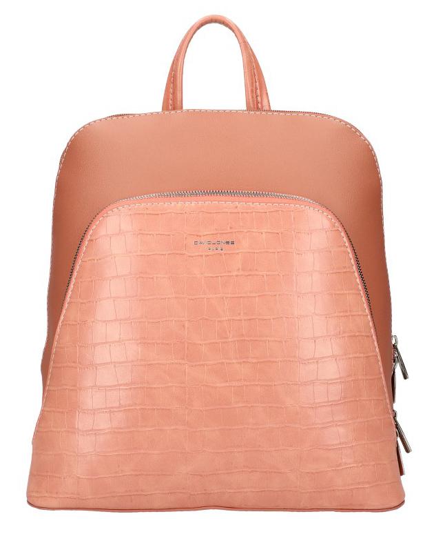Ružový dámsky módny batôžtek David Jones CM5615