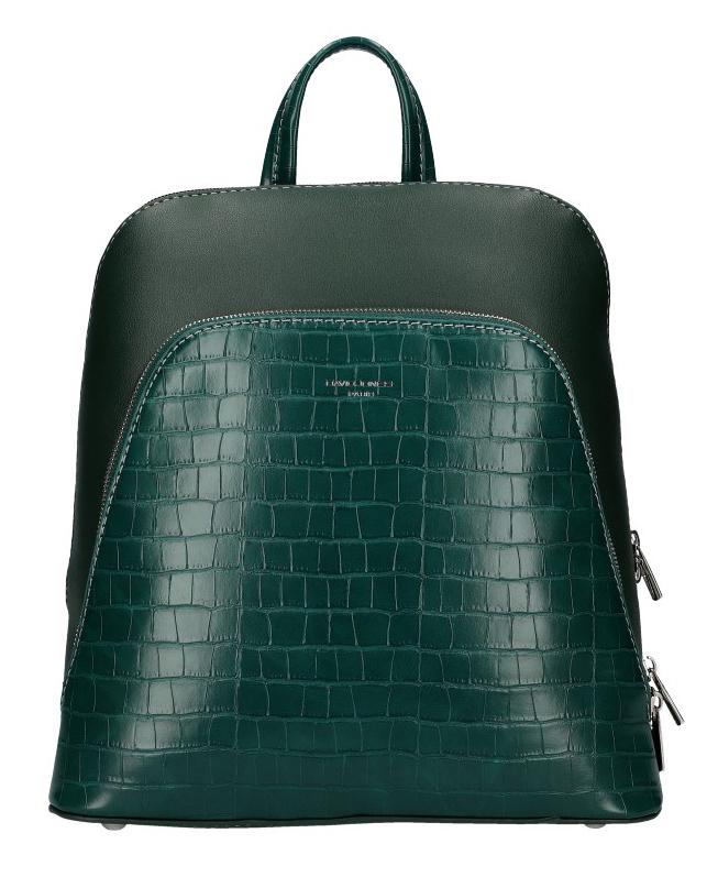 Zelený dámsky módny batôžtek David Jones CM5615