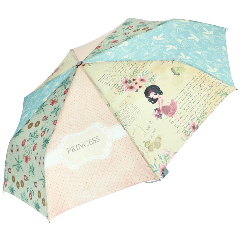 Sweet & Candy Automatický dámsky dáždnik s potlačou v1