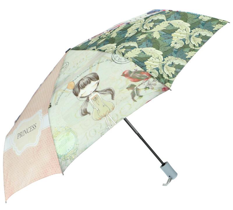 Sweet & Candy Automatický dámský deštník s potiskem v2