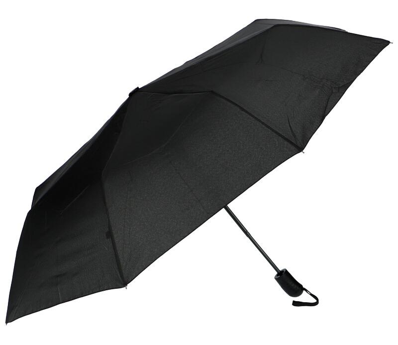 J.S ONDO Automatický deštník černý Unisex