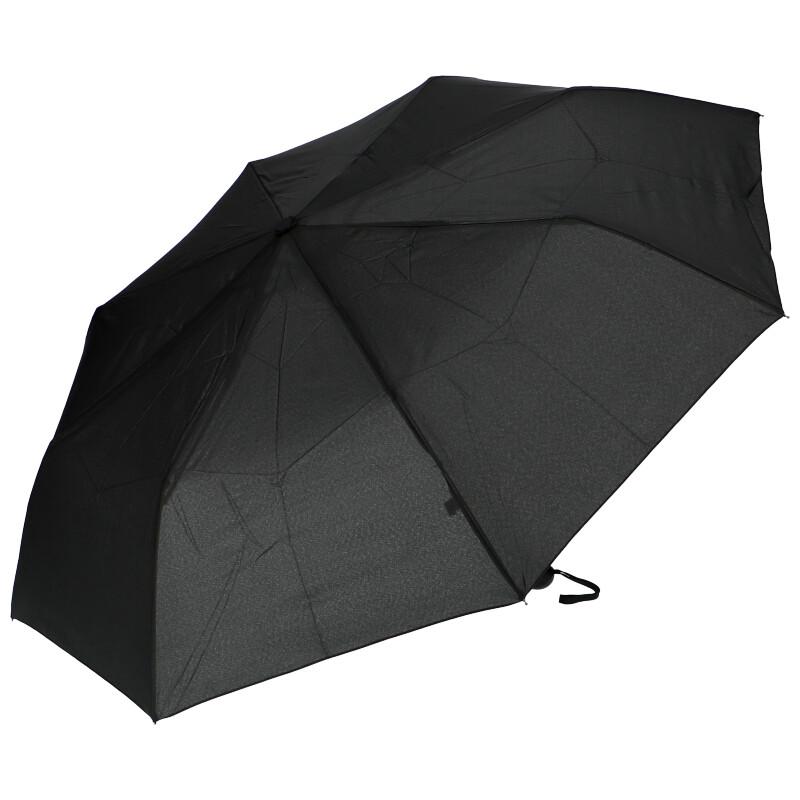 J.S ONDO Automatický dáždnik čierny Unisex