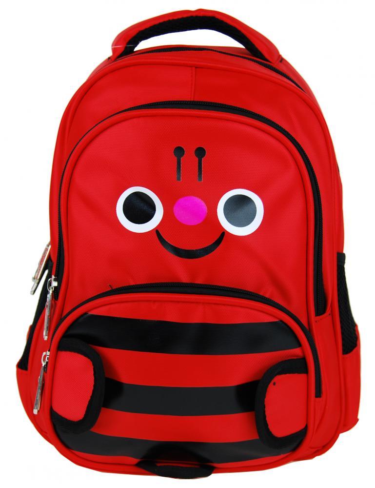 Detský batoh L12001 červený čmeliak