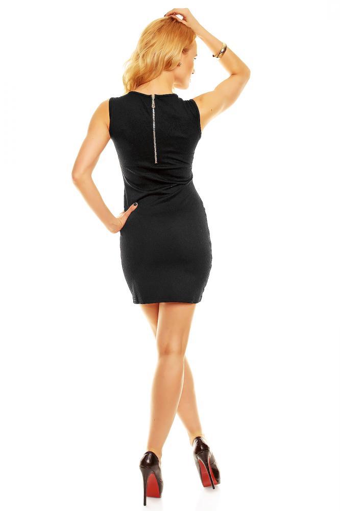 Čierne dámske letné šaty Luxestar veľkosť L