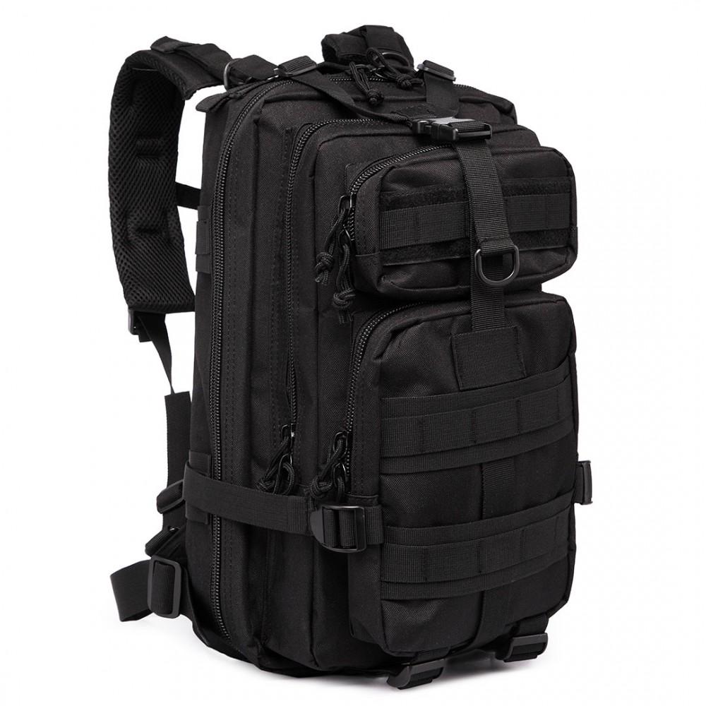 KONO čierny multifunkčný turistický batoh