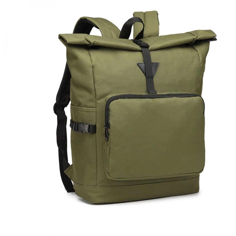 Zelený školský batoh Miss Lulu UNISEX