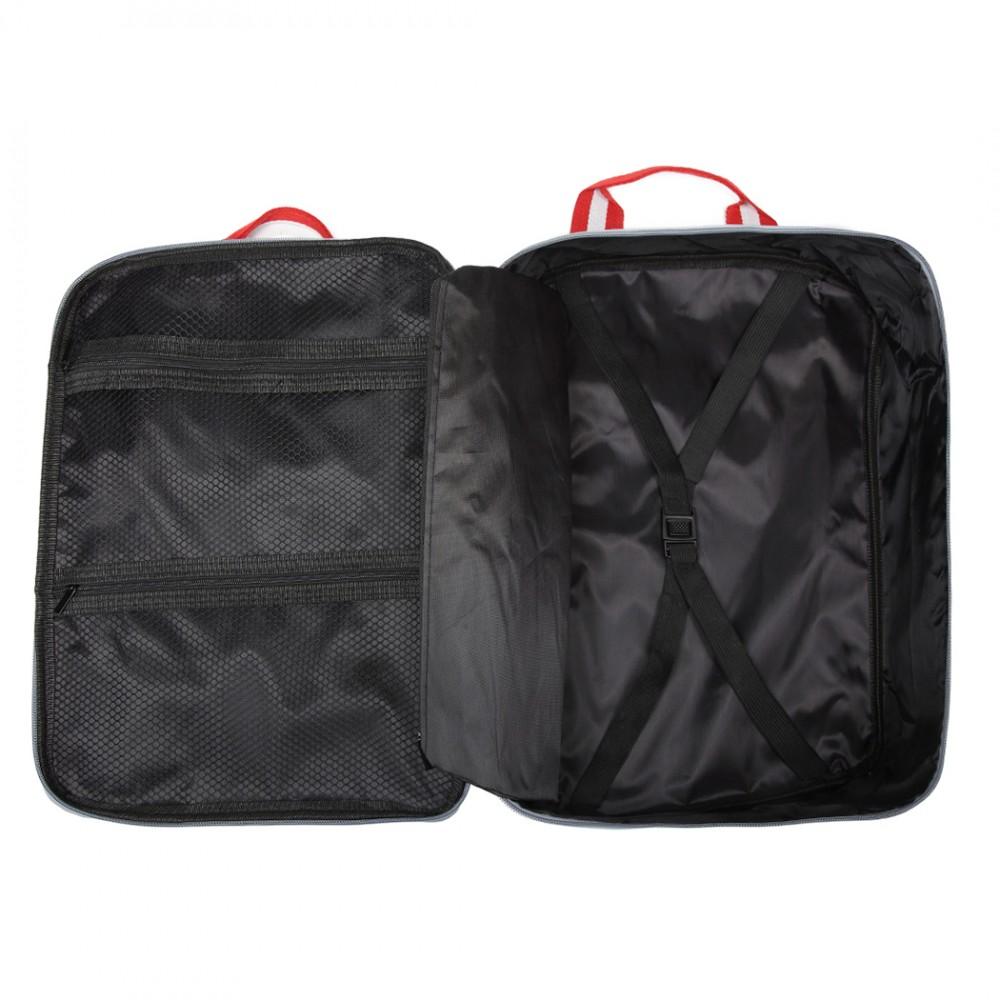 Strieborná pánska multifunkčná cestovná taška do ruky aj cez rameno