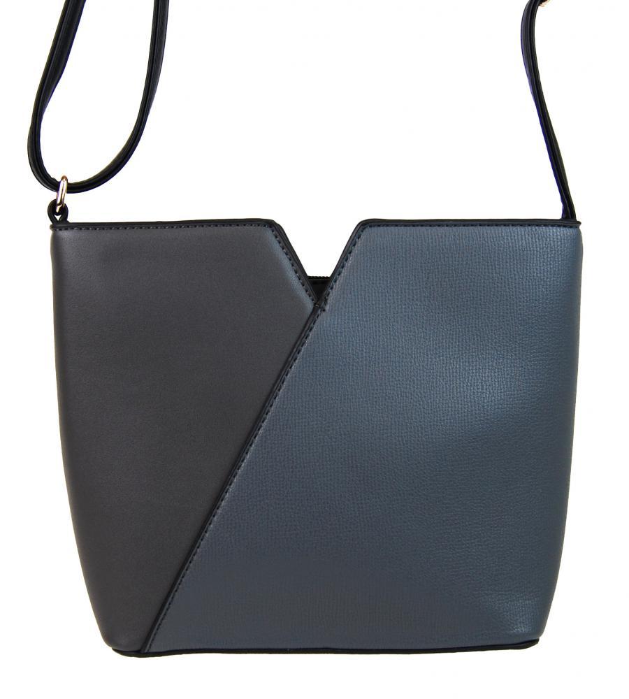 Dámská vyztužená crossbody kabelka Giulia šedá